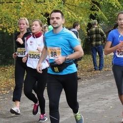 Sigulda Half Marathon - Atis Brikmanis (98), Dace Kozlovska (2128), Agnese Gedrovica (2305)