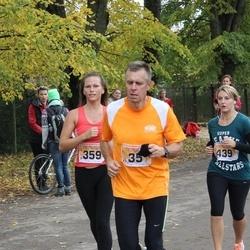 Sigulda Half Marathon - Aigars Aukšmuksts (35), Laura Martuzāne (359), Santa Priede (439)