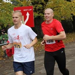 Sigulda Half Marathon - Oskars Genavs (171), Aigars Saulīte (498)