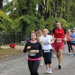 Sigulda Half Marathon - Vladimirs Tiscenko (1347), Agnese Vēze (1364), Anete Kāle (2098)