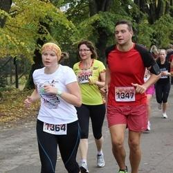 Sigulda Half Marathon - Vladimirs Tiscenko (1347), Agnese Vēze (1364)