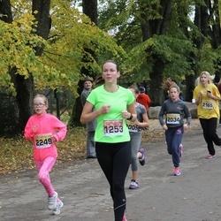 Sigulda Half Marathon - Ieva Pastare (1253), Džasmīne Brahmane (2034), Anete Upeniece (2249)