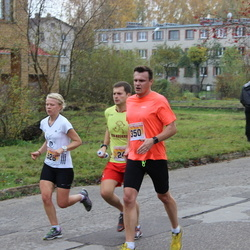 Sigulda Half Marathon - Gatis Madžiņš (350), Kristīne Sprice (526)