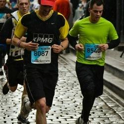 The 25th Lattelecom Riga marathon - Jānis Lapels (8087), Arvils Agejevs (8540)