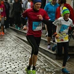 The 25th Lattelecom Riga marathon - Rihards Bendrāts (9110), Alēns Jukšinksis (9466)