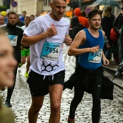 The 25th Lattelecom Riga marathon - Oskars Seilis (7954), Artūrs Geisari (9349)
