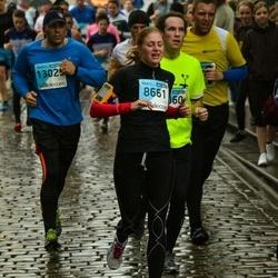 The 25th Lattelecom Riga marathon - Anna Meirens (8661), Jānis Barkāns (13025)