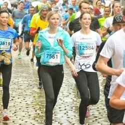 The 25th Lattelecom Riga marathon - Georgijs Jermolajevs (1284), Annija Anna Ambaine (7561)