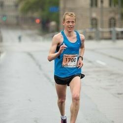 The 25th Lattelecom Riga marathon - Kristaps Bērziņš (1700)