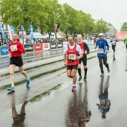 The 25th Lattelecom Riga marathon - Vinicio Cecchi (630), Arnis Avots (729), Aleksejs Baidins (760)