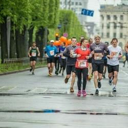 The 25th Lattelecom Riga marathon - Anete Bauere (236), Ingus Puriņš (512), Andrejs Lobanovs (1258)