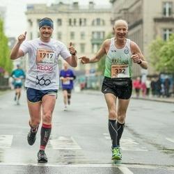 The 25th Lattelecom Riga marathon - Jānis Marčinkus (332), Zintis Brasavs-Muižnieks (1717)