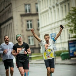 The 25th Lattelecom Riga marathon - Inga Ziediņa (1445), Emanuele Guiducci (1846)