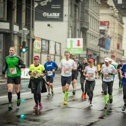 The 25th Lattelecom Riga marathon - Aigars Kokins (327), Thomas Nuyken (946), Maximilian Dedow (1270)