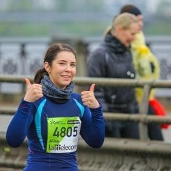The 25th Lattelecom Riga marathon - Alise Spurdziņa (4805)