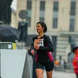 The 25th Lattelecom Riga marathon - Alena Musalnikova (1589)