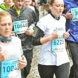 The 25th Lattelecom Riga marathon - Lauma Ose (8223), Andris Stote (10840)