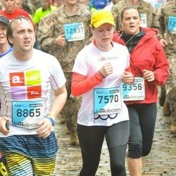 The 25th Lattelecom Riga marathon - Elza Rudzīte (7570), Kaspars Šulcs (8865)