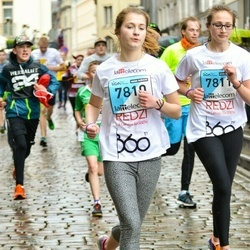 The 25th Lattelecom Riga marathon - Megija Dolgovska (7810), Nikola Maleca (7811)