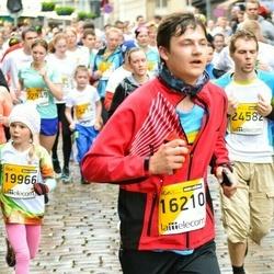 The 25th Lattelecom Riga marathon - Daniels Pelīte (16210), Estere Pole (19966)