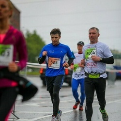 The 25th Lattelecom Riga marathon - Bulat Bakaev (525), Andris Punāns (6004)
