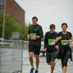 The 25th Lattelecom Riga marathon - Jekaterina Fjodorova (3651), Artjoms Dozorcevs (4018), Aija Lismane (4205)