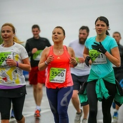 The 25th Lattelecom Riga marathon - Ieva Irbina (3500), Agnija Tararuja (5681)