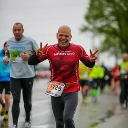 The 25th Lattelecom Riga marathon - Aleksejs Belokopitovs (1729)