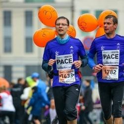 The 25th Lattelecom Riga marathon - Gatis Kveders (1433), Rimants Liepiņš (1782)