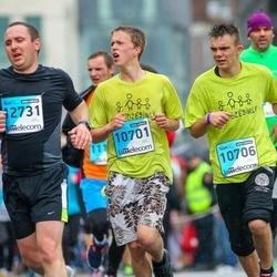 The 25th Lattelecom Riga marathon - Mārtiņš Mudiņš (10701), Ēriks Šalājevs (10706)