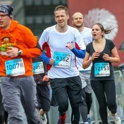 The 25th Lattelecom Riga marathon - Jānis Grīnbergs (9382), Aigars Žukovskis (12153)