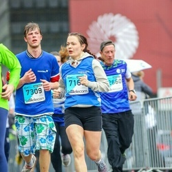 The 25th Lattelecom Riga marathon - Evita Libeka (7168), Rihards Miezis (7309)