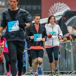 The 25th Lattelecom Riga marathon - Emily Williamson (10630), Tom Marshall (10631)