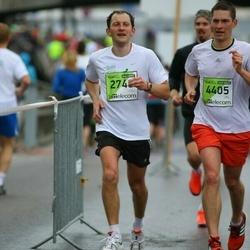 The 25th Lattelecom Riga marathon - Jurijs Misjuns (2748), Alexandrs Okseņuks (4405)
