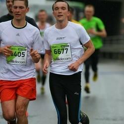 The 25th Lattelecom Riga marathon - Alexandrs Okseņuks (4405), Aleksejs Jevdokimovs (6677)