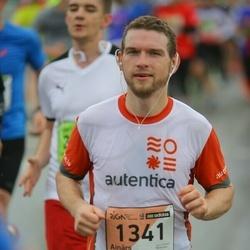 The 25th Lattelecom Riga marathon - Ainārs Kumpiņš (1341)