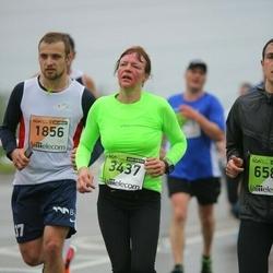 The 25th Lattelecom Riga marathon - Reinis Millers (1856), Anita Zierow (3437)
