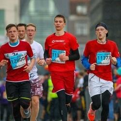 The 25th Lattelecom Riga marathon - Kristiāns Ķīlis (11373), Rūdis Laizāns (11374), Adrians Muzikants Spēlmanis (12800)