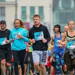 The 25th Lattelecom Riga marathon - Antons Vitkalovs (8623), Agita Bērza (9131)