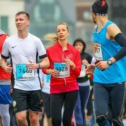 The 25th Lattelecom Riga marathon - Jēkabs Treijs (7448), Ieva Šeflere (9928)