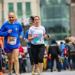 The 25th Lattelecom Riga marathon - Carl Sietins (204), Ilze Jastrebova (7710)