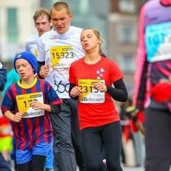 The 25th Lattelecom Riga marathon - Agnese Dakstiņa (179), Ilona Platā (23159)