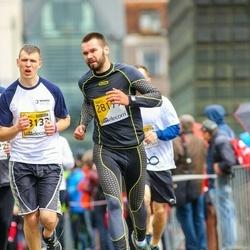 The 25th Lattelecom Riga marathon - Edgars Koncevojs (23133), Anna Žīgure (28179)