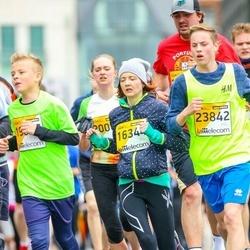 The 25th Lattelecom Riga marathon - Agnese Jermaka (16344), Megija Kanča (23842)
