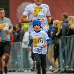 The 25th Lattelecom Riga marathon - Toms Kleins (15446), Pēteris Lukstiņš (26787)