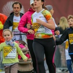 The 25th Lattelecom Riga marathon - Laurita Vasariņa (20228), Amanda Pekstiņa (28020)