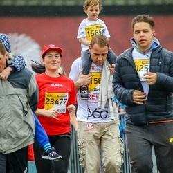 The 25th Lattelecom Riga marathon - Ādams Klints (15651), Svetlana Rudaka (23477)