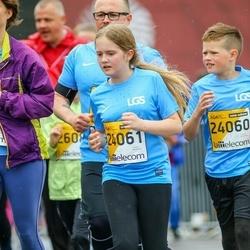 The 25th Lattelecom Riga marathon - Emanuels Saliņš (24060), Estere Saliņa (24061)