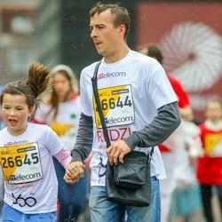 The 25th Lattelecom Riga marathon - Gundars Zikmanis (26644), Amanda Zikmane (26645)