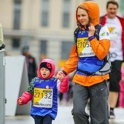 The 25th Lattelecom Riga marathon - Kristīna Sušilova (27052), Katrīna Sušilova (27132)